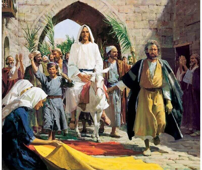 Palm Sunday 2018 – Traditional Worship Service