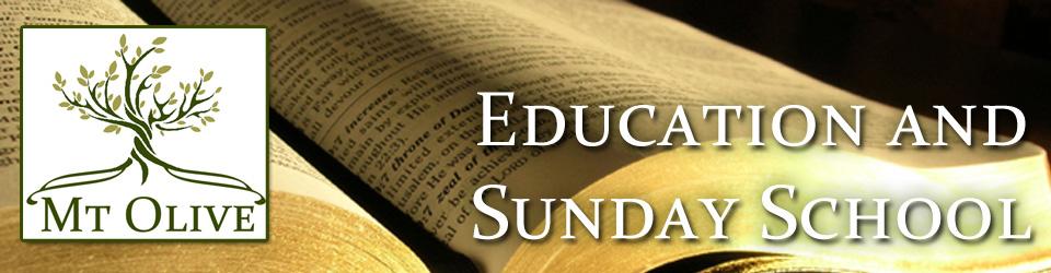 Education Hour & Sunday School