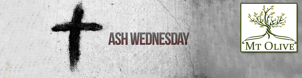 Ash Wednesday 2018 – 6:30pm