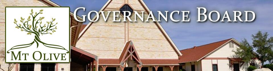 Mt. Olive Governance Board