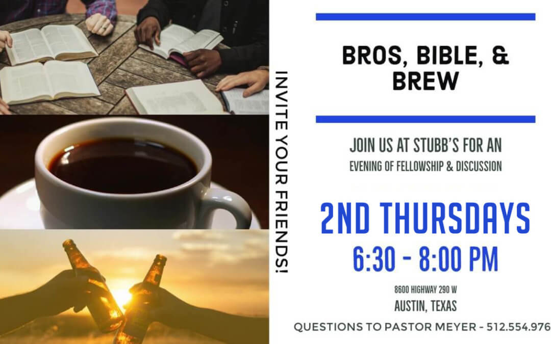 Bros, Bible, & Brew