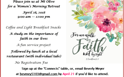 Women's Morning Retreat 2018