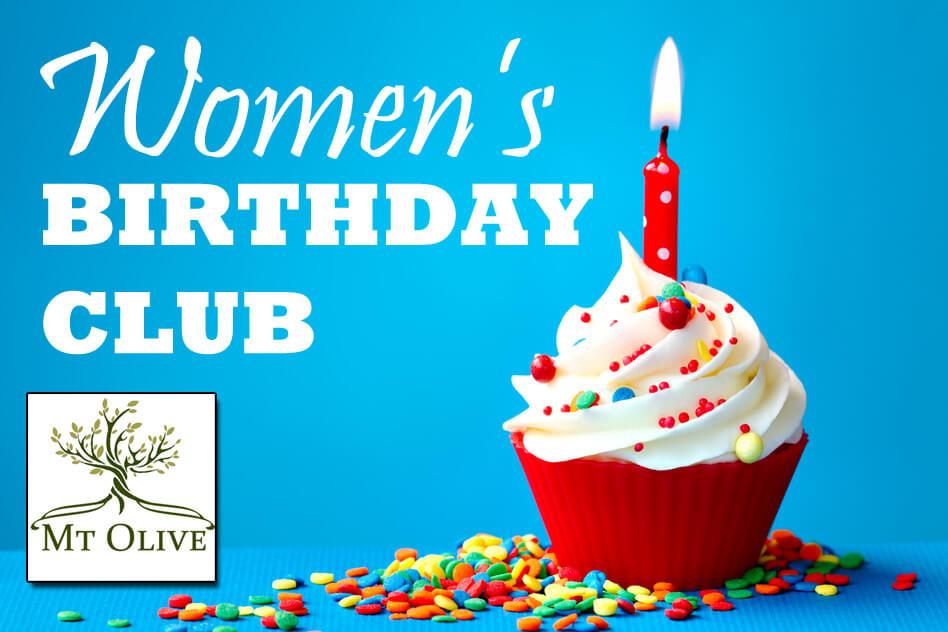 Women's Birthday Club