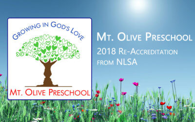 Mt. Olive Preschool – Re-Accreditation through NLSA