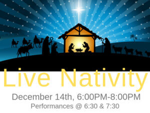 Mt. Olive Live Nativity 2018