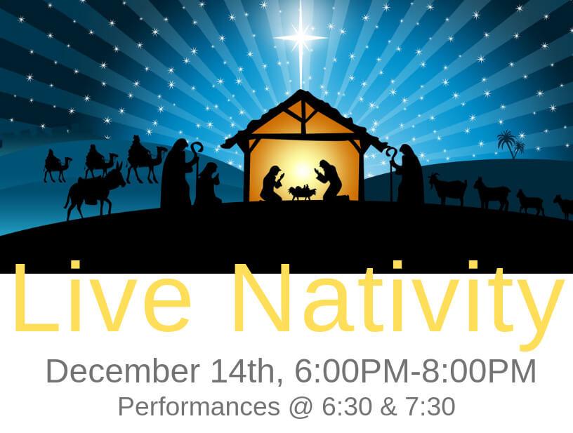 Mt. Olive Live Nativity 2018