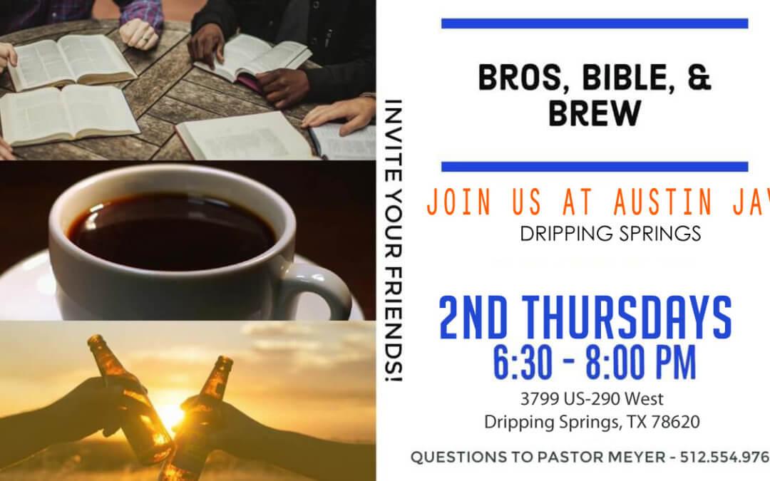 Bros, Bible, & Brew