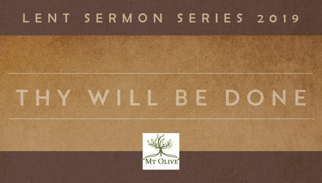 foto de New Sermon Series - Lent 2019 | Mt Olive