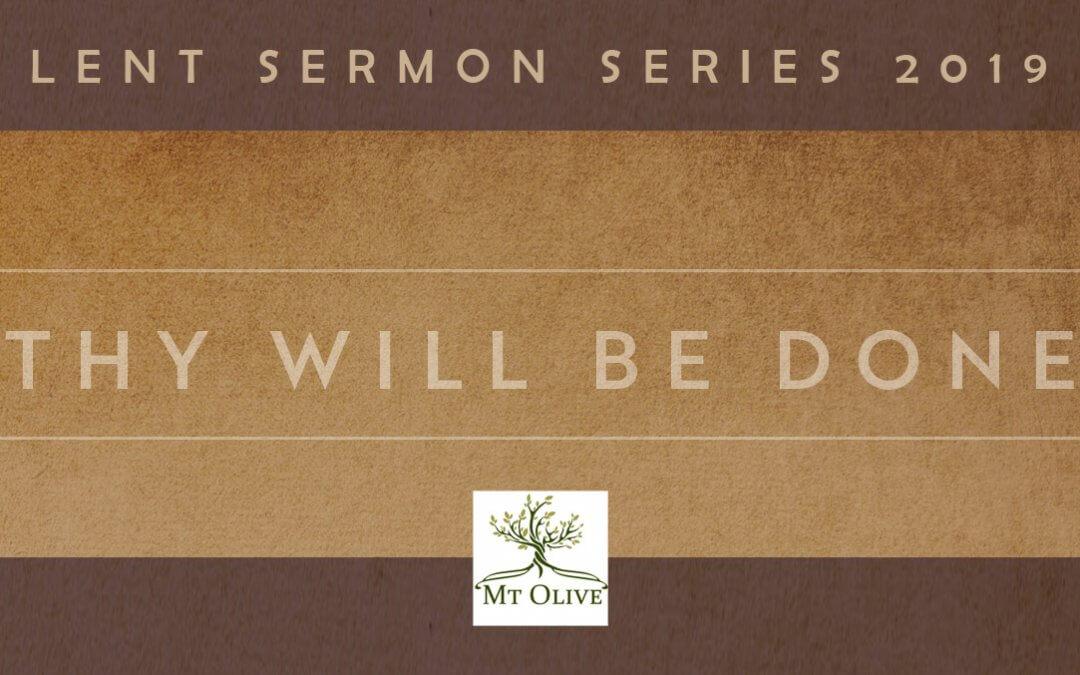 New Sermon Series – Lent 2019