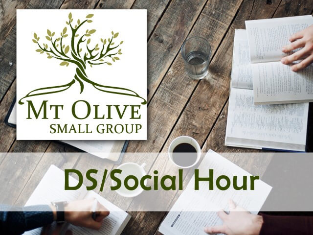 Small Group – DS/Social Hour