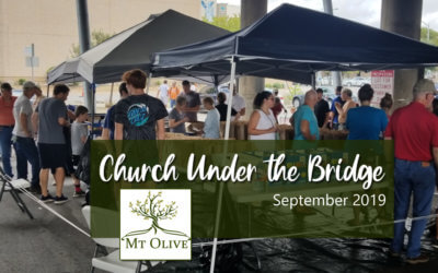 Church Under The Bridge – September 2019
