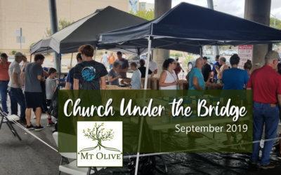 Church Under The Bridge – September 2019