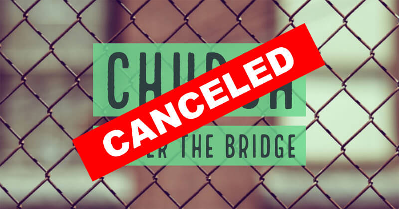 CANCELED – Church Under The Bridge (Spring 2020)