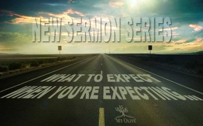New Sermon Series – What To Expect When You're Expecting …..