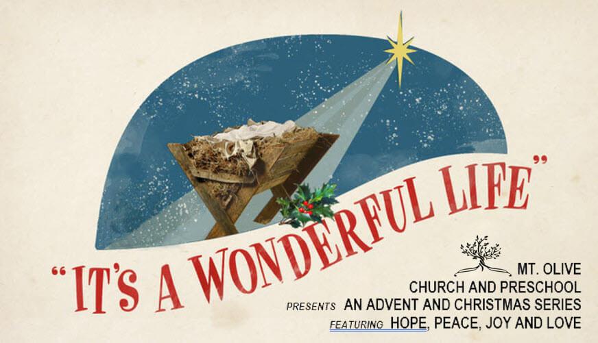 Advent Sermon Series – It's a Wonderful Life!